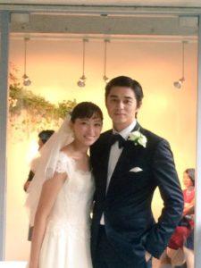 杏 東出昌大 結婚式2