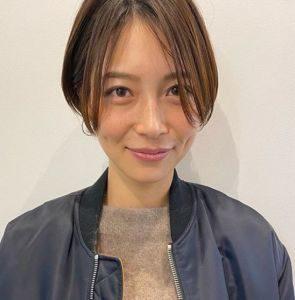 相武紗季 髪バッサリ