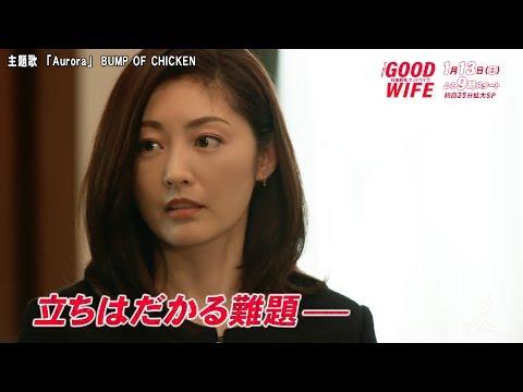 常盤貴子 綺麗すぎる ドラマ グッドワイフ 2