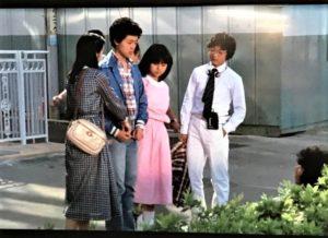 薬師丸ひろ子 若い頃 画像 翔んだカップル